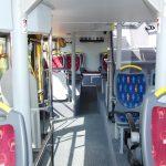 Fahrgastraum im Unterdeck